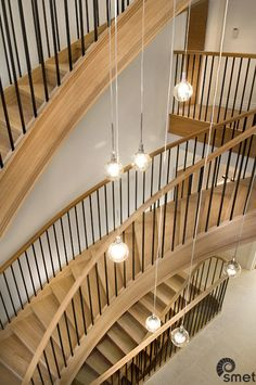 The combination of solid French Oak with black painted plain steel spindles is a good way to go in both traditional and contemporary interiors.  Take a look at this project we've done in Guildford.
