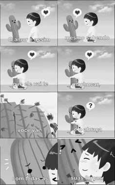 O amor é (realmente) assim...