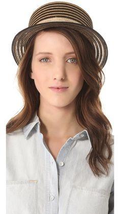 Eugenia Kim Marcel Boater Hat