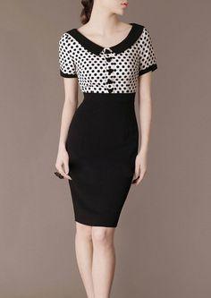 Interview Etsy listing at https://www.etsy.com/listing/385285022/vintage-dress-pet-pan-collar-work-dress