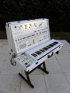 "Just a gorgeous Arp 2600 in white. Does it come in pink too? ""Houston, we're ready for takeoff."""