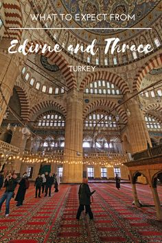 I spent two days exploring the City of Edirne and a portion of the wine route in the region of Thrace, Turkey. Here are the places I visited and recommend that you visit.