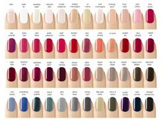Visit the biggest discount fashion store @ kpopcity.net!!!! Sensational nail polish color chart fall 2013 | ... Color Gel Polish to add in 48 new colors! Please enjoy the following