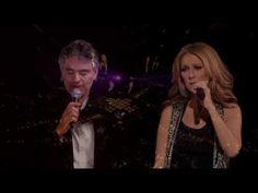 Celine Dion & Andrea Bocelli - The Prayer (Live In Boston Taking Chances Tour 2008) 720p HDTV