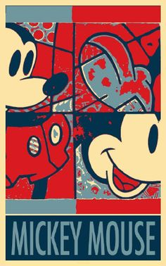 Mickey Mouse In Hope Rob Hans