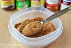 We go through a whole lot of taco seasoning. It's kind of crazy. Mexican food is by far my favorite type of food. I think it's the spices and all the flavors that I love. There ar...
