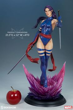 Marvel Psylocke Premium Format(TM) Figure by Sideshow | Sideshow Collectibles