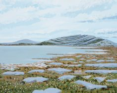 Items similar to Mullaghmore lake Burren Co Clare on Etsy Pretty Images, Pretty Pictures, Beautiful Images, Irish Art, Pretty Art, Beautiful Paintings, Art Blog, Art For Sale, Wales