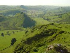 Chrome Hill in the Peak District
