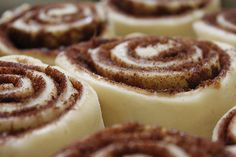 These are the best *and* the easiest yeasted cinnamon rolls I've ever made. They are now a staple for house guests. Link to recipe is in the blog post.