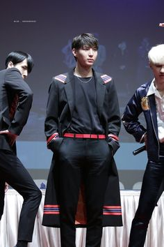 Leo with Ravi and Ken