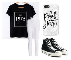 """The 1975"" by fangirlmendes on Polyvore featuring rag & bone, Converse and Casetify"