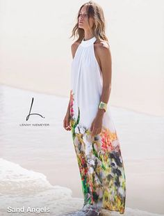 ***going to the island for vacation***- romantic drinks at the ocean side bar late at night - Lenny Niemeyer Boho Fashion, Fashion Outfits, Womens Fashion, Beach Dresses, Summer Dresses, Floral Dresses, Mode Pop, Ethno Style, Estilo Boho
