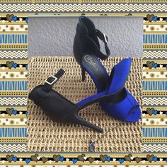 """Check out CANDIE'S 4"""" Open Toe Heels 8 NWOT on Threadflip!"""