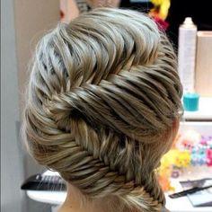 28 Amazing Hair Braids #braids #hairstyles #hair #amazinghair #fishtailbraid