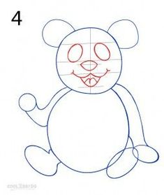 How to Draw a Panda. There are many ways to draw a panda. In this lesson, we will learn step-by-step examples drawing a panda quickly Cartoon Panda, Cute Cartoon, Panda Drawing, Easy Drawings Sketches, Step By Step Drawing, Panda Bear, Animal Drawings, Smurfs, Art For Kids