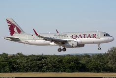 A7-AHP Qatar Airways Airbus A320-232 photographed at Budapest - Ferenc Liszt International (Ferihegy) (BUD / LHBP) by András Soós