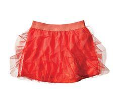 Layered Ruffle Tulle Skirt