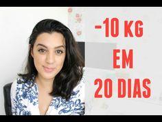 COMO EU PERDI 10KG EM 20 DIAS - YouTube