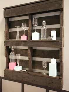 AND another use for an old discarded pallet!