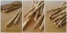 Ingredienti (per 40 grissini)   350 g di semola di grano duro  30 g di farina di mais integrale  100 g di lievito madre rinfrescato il giorn...