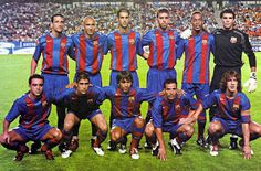 EQUIPOS DE FÚTBOL: BARCELONA 2004-05