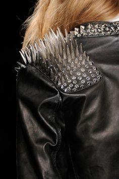 spikes, dark, fashion