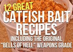 "Homemade Catfish Bait Secrets (12 Catfish Bait Recipes) plus the Bells Of Hell Stink Bait ""Weapons Grade"""