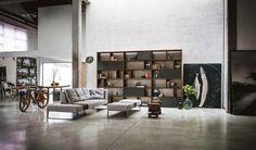 Living room decor ideas: industrial style | Riva 1920