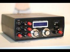 DIY ATX variable bench power supply - YouTube