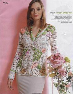 blusas tejidas a crochet pinterest - Buscar con Google
