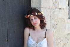 Adjustable multicolour flower and fruit by lipsandpiecesbridal, €48.00