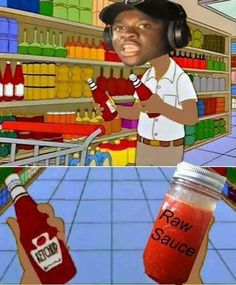 Big Shaq Raw Sauce