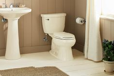 There are a few things that you need to keep mind when looking for the best toilet for your small bathroom. Aside from choosing spacing saving designs, you also need to consider size, flushing efficiency and cleaning.