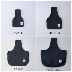 Project Bag knitting bag Small knitting wristlet by OtterburnPQ