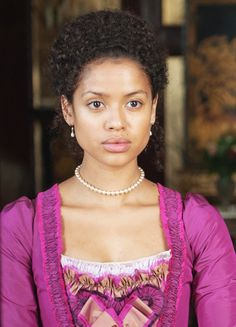 Gugu Mbatha-Raw in 'Belle' (2014).