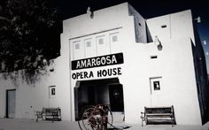 In 1935, the town of Death Valley, California opened a new hotel and public service building.Originally called Corkhill Hall, the building's name was changed to the Amargosa Opera House and Hotel in 1967 when resident