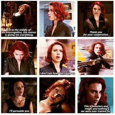 The Avengers ... Black Widow http://pinterest.com/yankeelisa/marvel-s-the-avengers/