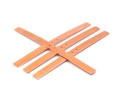 Copper  Bracelet Blank 3 Raw Copper Bracelet Stamping Blanks
