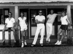 Dire Straits (1985), Alan Clark, Terry Williams, Mark Knopfler, John Illsley, Guy Fletcher