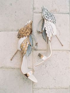 Butterfly heels // Sophia Webster No me encantan éstos shoes. Dream Shoes, Crazy Shoes, Me Too Shoes, Bridal Shoes, Wedding Shoes, Casual Wedding, Elegant Wedding, Lace Wedding, Dream Wedding