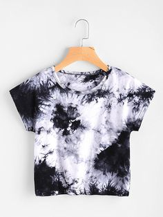 Shop Water Color Tee online. SheIn offers Water Color Tee & more to fit your fashionable needs.