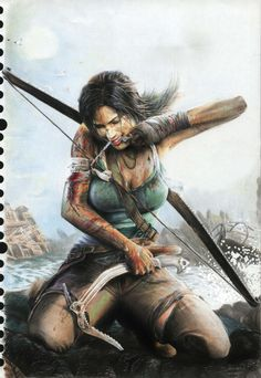 Amazing Lara Croft by Mistwalker    http://mistwalkerphotography.wordpress.com/2012/07/07/art-tomb-raider-2012-lara-croft/