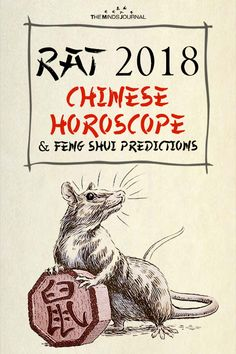 Rat 2018 Chinese Horoscope & Feng Shui Predictions - https://themindsjournal.com/rat-2018-chinese-horoscope/
