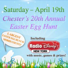 The largest egg hunt in Morris County, this Chester event is great fun! #chesternj www.jacksondreamteam.com