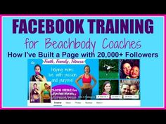 Facebook Training for Beachbody Coaches - Fit with Rachel