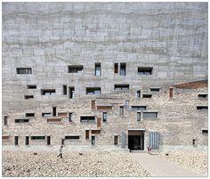 Ningbo Historic Museum. Wang Shu (Amateur Architecture Studio), 2009. Ningbo, China.  photo by Clement Guillaume
