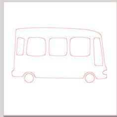 Fichier SST ** Bus car  ** pour silhouette caméo - scrapbooking carterie silhouette cameo tuto astuce scrap image tube numérique creation