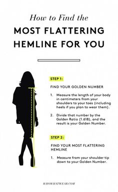 How to Make Your Legs Look Slim Every Time via /WhoWhatWear/