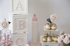 Pink Rocking Horse Baby Shower - Bella Paris Designs